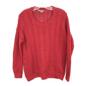 Sweaters - VINCE Textured knit Sweater pullover cotton scoop